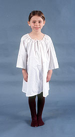Girls S Clothing From The 1770s