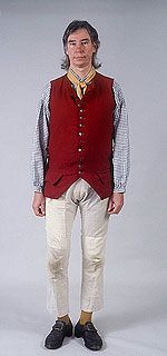 Men S Clothing From The 1770s