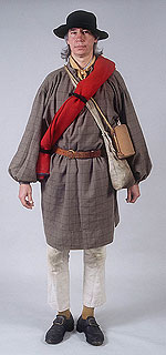 American Revolutionary War Clothing For Sale