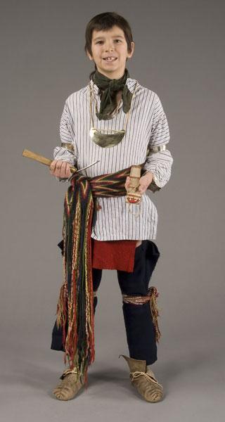 Wôbanaki Boy's Clothing From 1800