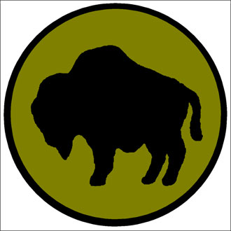 file:/activities/oralhistory/cappics/elliot1917_buffalo, alt: buffalo silhouette on circular field