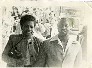file:/activities/oralhistory/cappics/nelson1943_couple, alt: Wally and Juanita in the 1940s