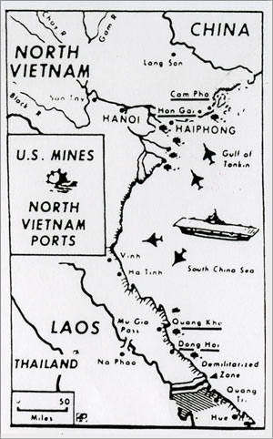 file:/activities/oralhistory/cappics/romer1972_vietnam, alt: map of U.S. mines in Vietnamese ports